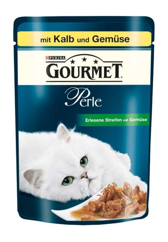Purina Gourmet Perle - Mini Fillets in Gravy with Veal & Vegetables 85 g order cheap