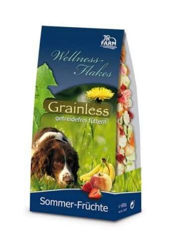 JR Farm Dog Wellness-Flakes - Fruits d'été 650 g