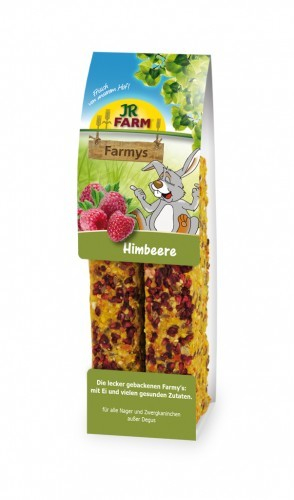 JR Farm Farmys Raspberry 160 g 4024344073410