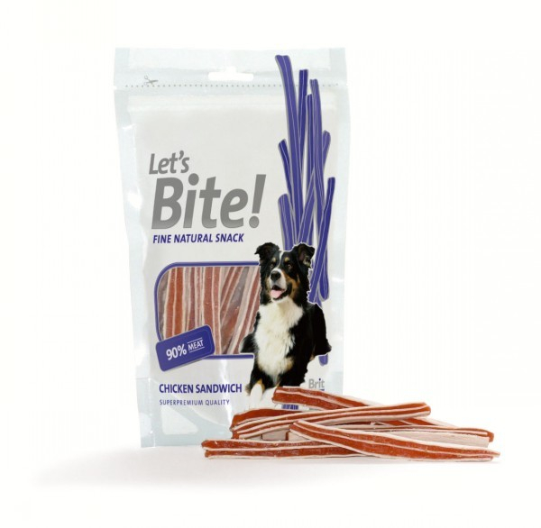 Let´s Bite Chicken Sandwich 80 g 8594031442950 anmeldelser
