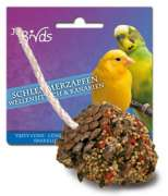 Birds Tasty Cones for Budgerigars und Canaries 2x120 g buy online