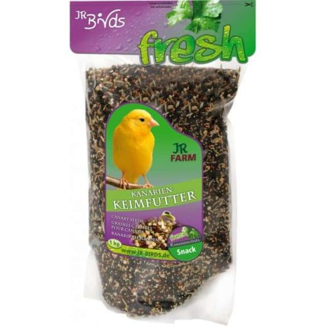Birds Germination seeds for canaries by JR Farm 1 kg buy online