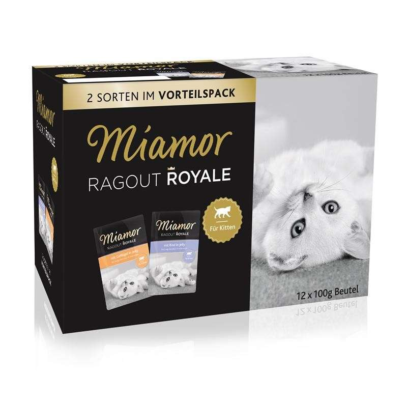 Ragout Royale Kitten Multi Mix Jelly by Miamor 12x100 g buy online