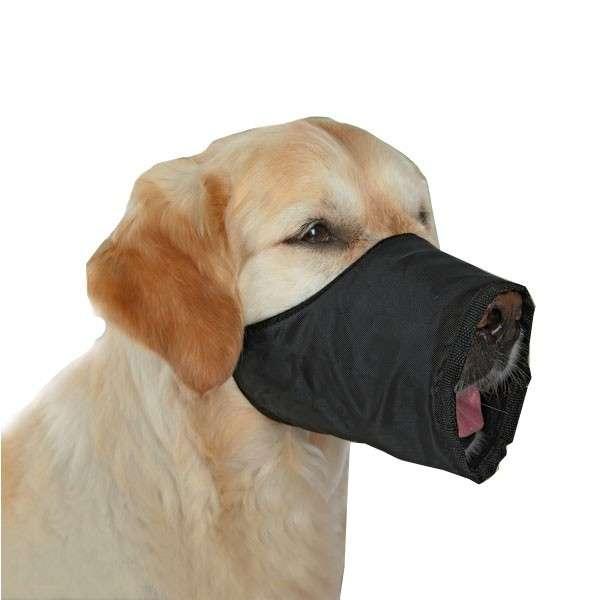 Muzzle Polyester, Black 12 cm  från Trixie köp billiga på nätet