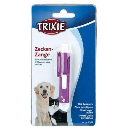 Pinzas para quitar garrapatas  Pinzas anti-garrapos, plástico 9cm por Trixie сompra justa y convenientemente con un descuento