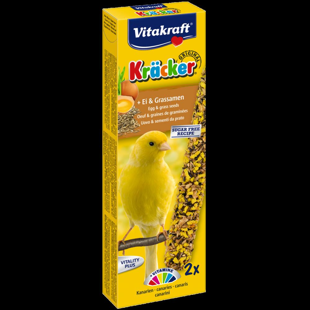 Vitakraft Crackers with Egg and Grass seed for canaries 54 g köp billiga på nätet
