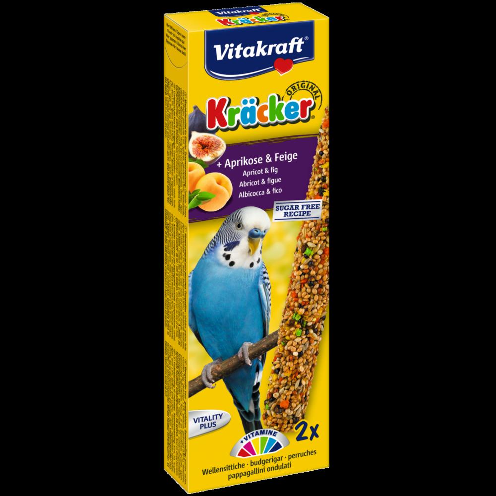 Vitakraft Parkietkräcker met Abrikoos & Vijg 60 g