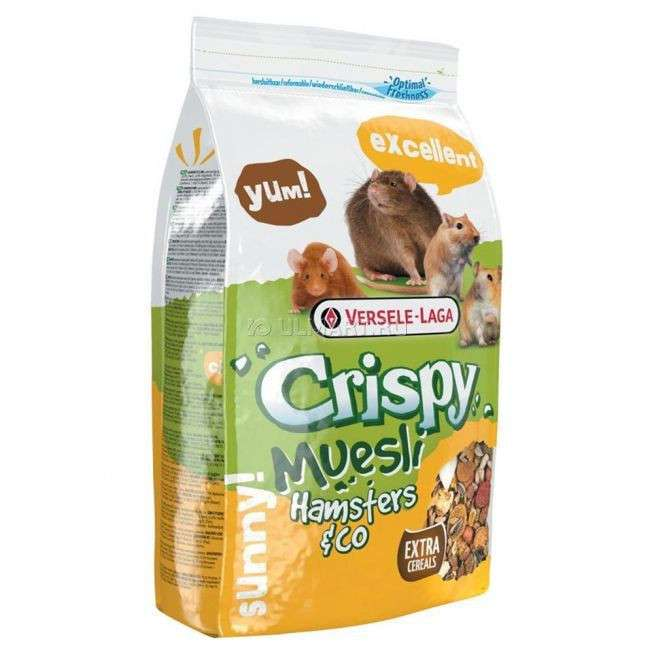 Crispy Muesli - Hamster & Co by Versele Laga 20 kg, 1 kg buy online