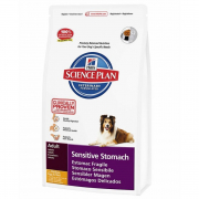 Science Plan Canine - Adult Sensitive Stomach with Chicken, Egg & Rice 1 kg