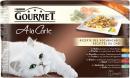 Purina Gourmet A la Carte, Køkkenchefens opskrifter (Kylling, oksekød, ørred, sej) 4x85 g
