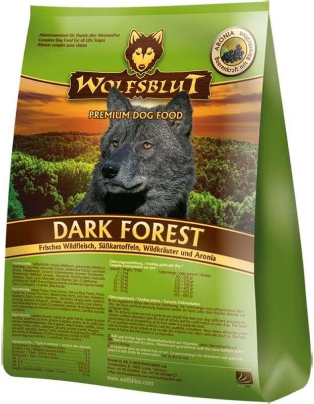 Wolfsblut Dark Forest Wildvlees, Zoete Aardappelen en Wilde Kruiden Aronia 500 g 4260262762023