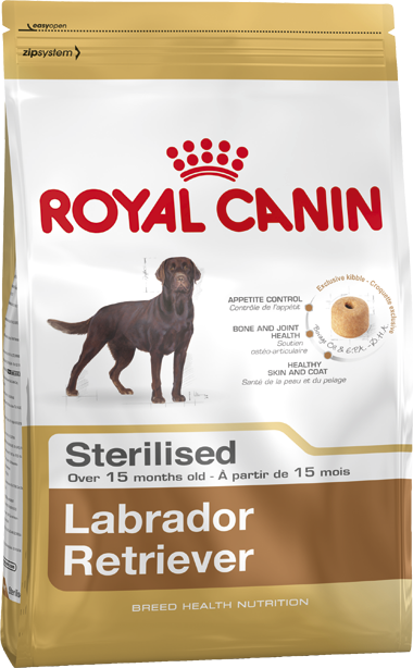 Royal Canin Breed Health Nutrition Labrador Retriever Sterilised 3 kg