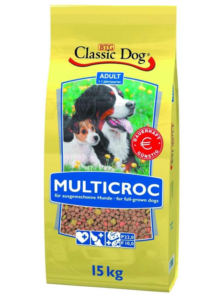Classic Dog Multicroc 15 kg kjøp billig med rabatt