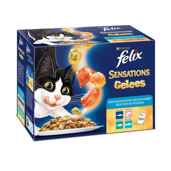 Sensations Jellies Fish Selection by Felix 12x100 g buy online