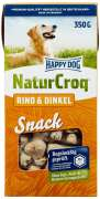 Happy Dog NaturCroq Snack Bœuf & Épeautre 350g