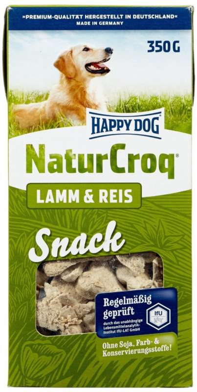 Happy Dog NaturCroq Snack Lam & Rijst 350 g