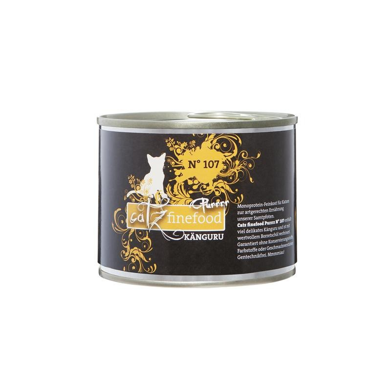 Purrrr No. 107 Kangaroo, canned by Catz Finefood 80 g, 750 g, 375 g, 190 g, 85 g, 800 g, 400 g, 200 g buy online