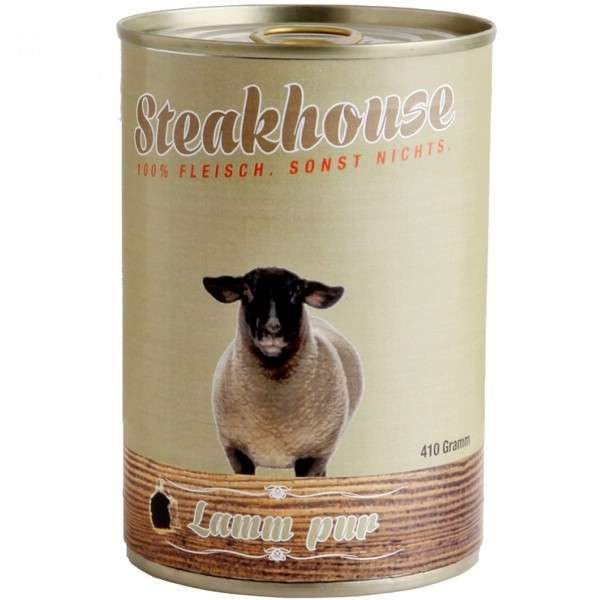Steakhouse Lamm Pur 410 g