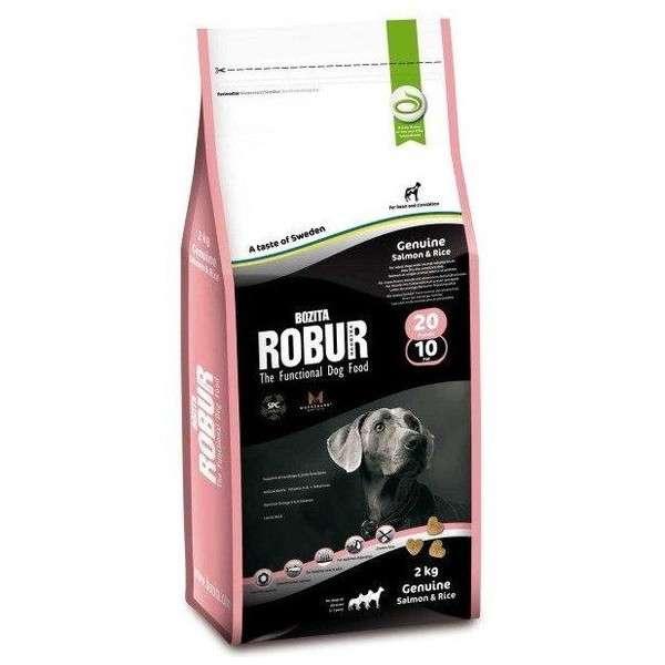 Bozita Robur Genuine Salmon & Rice 5 kg, 2 kg, 12.5 kg