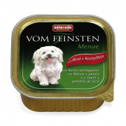 Vom Feinsten Menue Beef and Potatoes 150 g van Animonda