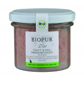 BIOPUR Diät - Skin & Coat Disorders 100 g