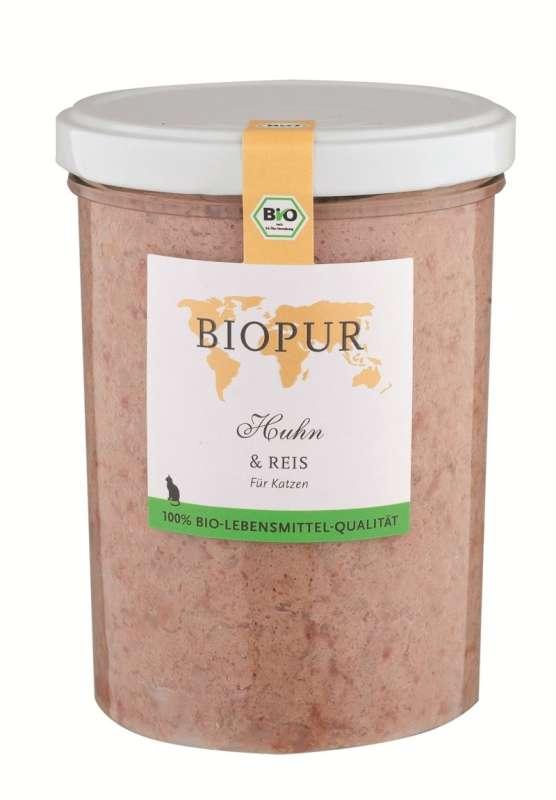 BIOPUR BIO Poulet & Riz 400 g