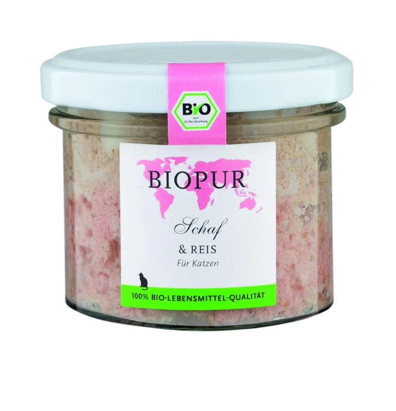 BIOPUR BIO Mouton & Riz 100 g