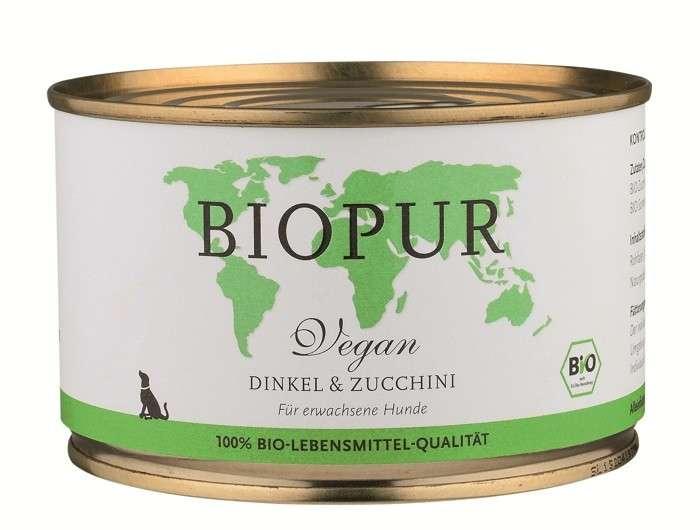 BIOPUR BIO Vegan, Spelt & Zucchini 400 g