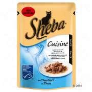 Sheba Buste Delicatezza Cuisine con Tonno in Salsa le Promozioni del momento