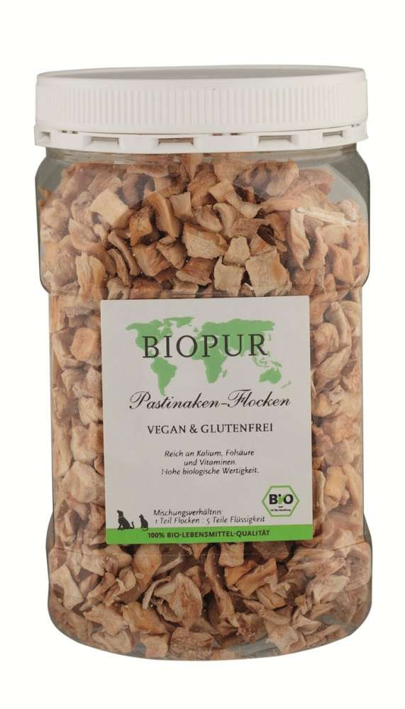 BIO Parsnips Flakes from BIOPUR 150 g buy online