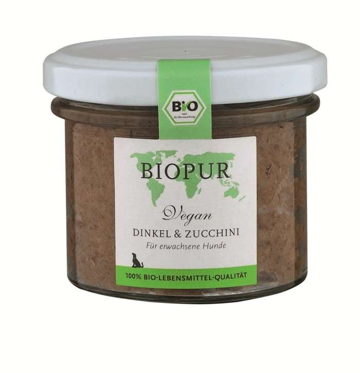 BIOPUR BIO Vegan, Spelt & Zucchini 100 g