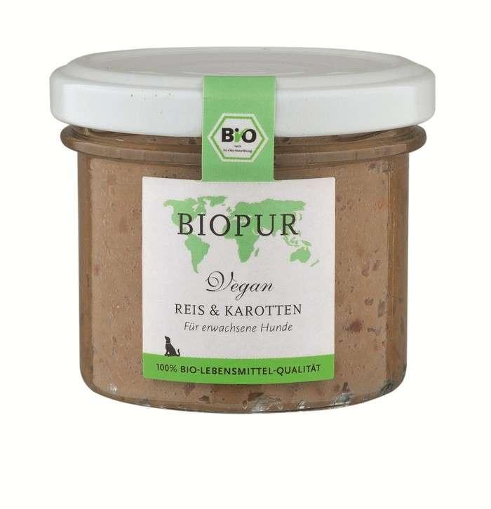 BIOPUR BIO Vegan, Rice & Carrots 100 g 4260028530750 erfaringer