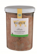 BIOPUR BIO Chicken, Rice & Carrots 400 g