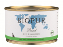 BIO Puppies Beef, Rice & Carrots 400 g
