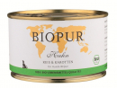 BIOPUR BIO Puppies Chicken, Rice & Carrots 400 g