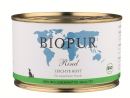 Natural and organic dog food BIOPUR BIO Light food, beef 400g