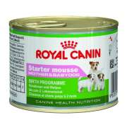 Canine Health Nutrition, Tin Starter Mousse from Royal Canin 195 g