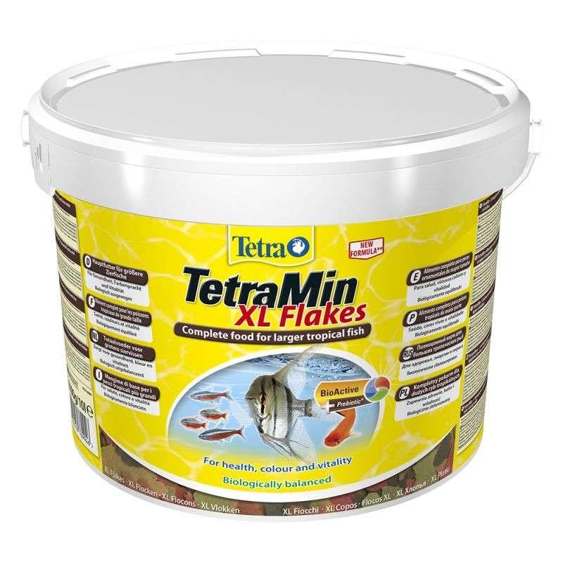 Tetra TetraMin XL Flakes  10 l
