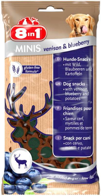 8in1 Minis Venison & Blueberry 100 g