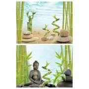 DecoArt Poster Buddha&Bamboo 450x600 mm