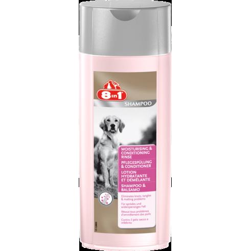 8in1 Vochtinbrengende & vochtregulerende spoeling 250 ml  met korting aantrekkelijk en goedkoop kopen