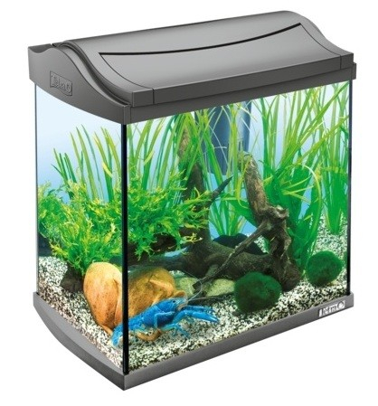 Tetra AquaArt Aquarium Complete Set Shrimps Wit