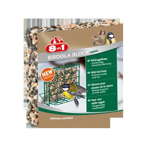 8in1 Birdola Block Menu 190 g  met korting aantrekkelijk en goedkoop kopen