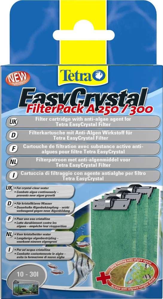 Tetra EasyChrystal FilterPack met AlgoStop 250/300 10-30L 10-30 l  met korting aantrekkelijk en goedkoop kopen