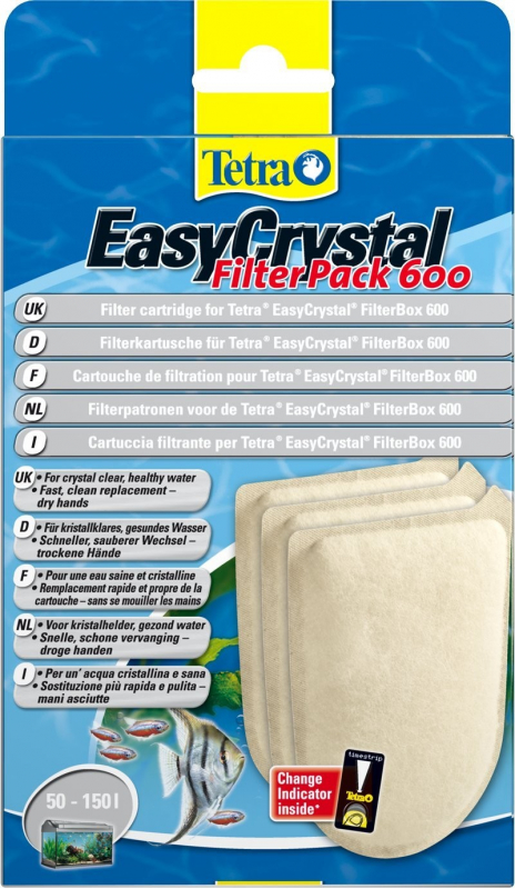 Tetra EasyCrystal Filter Pack 600  4004218174658