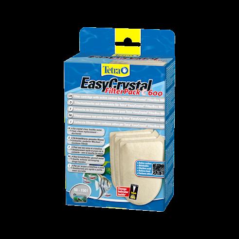 Tetra EasyCrystal Filter Pack C600 met actieve koolstof   met korting aantrekkelijk en goedkoop kopen