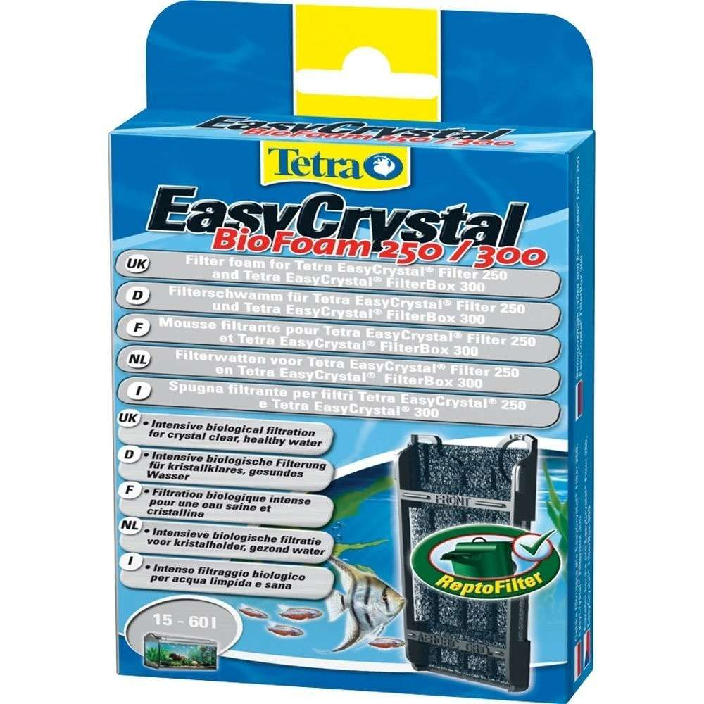 Tetra EasyCrystal Filter BioFoam 250/300   met korting aantrekkelijk en goedkoop kopen