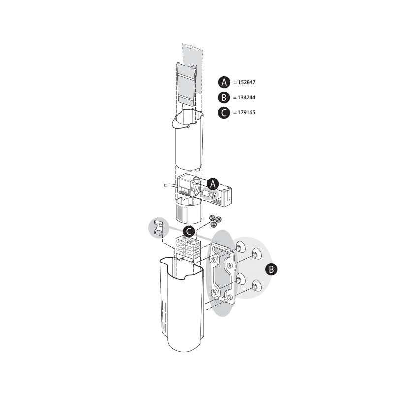Tetra EasyCrystal FilterBox 300 Rotor  4004218152847