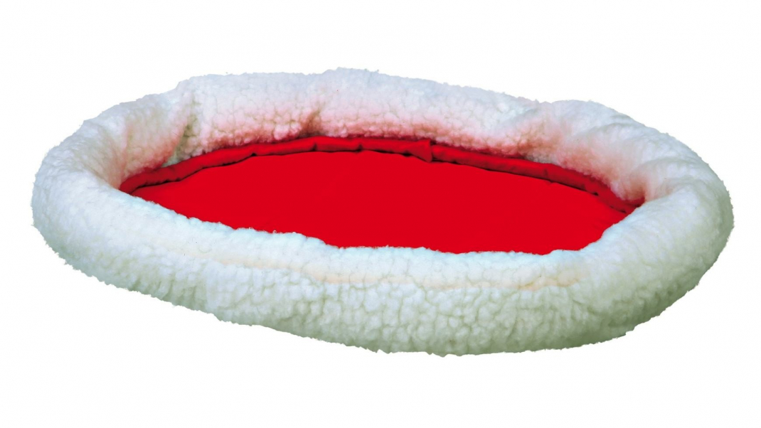 Trixie Cama Acolchada Reversible Rojo 47x38 cm
