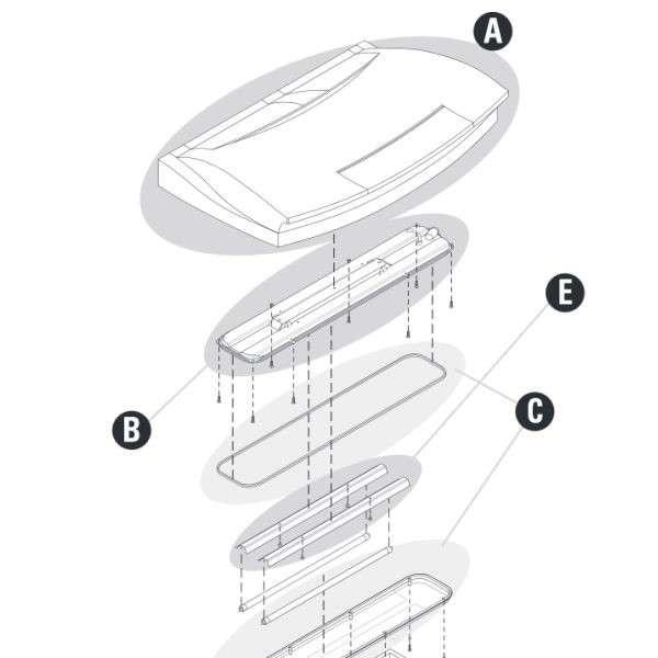 Tetra AquaArt 100 L Lichtunit For Tetra AquaArt 100 L   met korting aantrekkelijk en goedkoop kopen